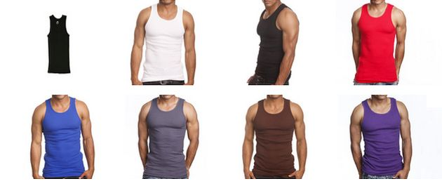 Searching For Colored Ribbed Tank Tops?