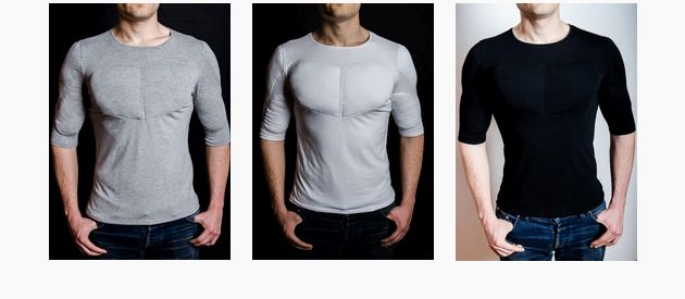 Mens Ripped T Shirt