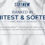 Jockey StayNew T-Shirts Stay Whiter & Softer