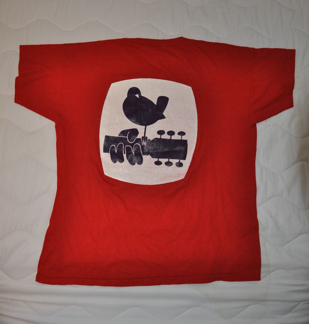 Official Woodstock t-shirt | Back