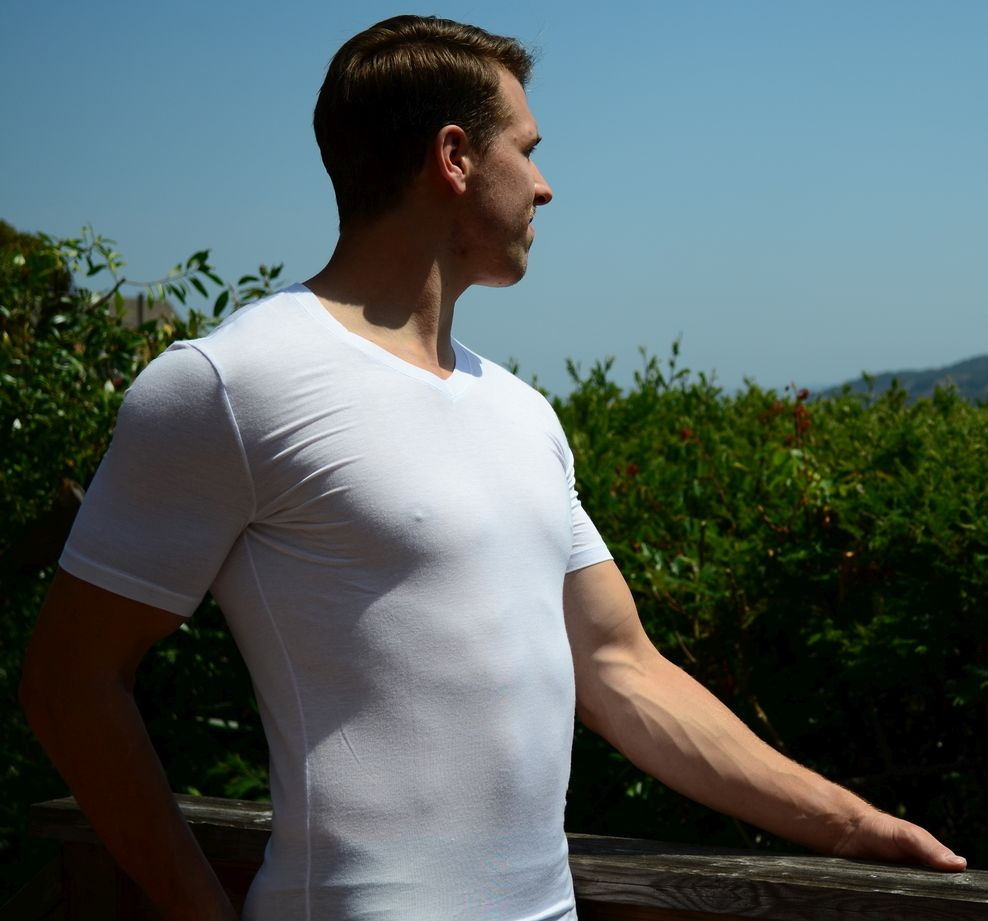 forca-micromodal-v-neck-undershirt-side-view