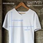 Kickstarter: NanoDri Undershirts – Sixnorth Tall Undershirts – Mr. Bathrobe Crusader