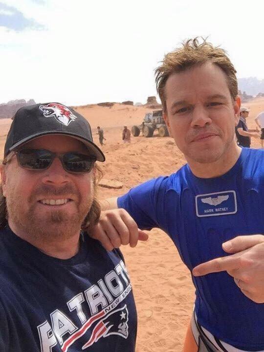Tube Shirt Matt Damon Wore in The Martian 2015 ...