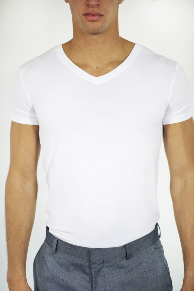 Jumper Threads White V-Neck Undershirt