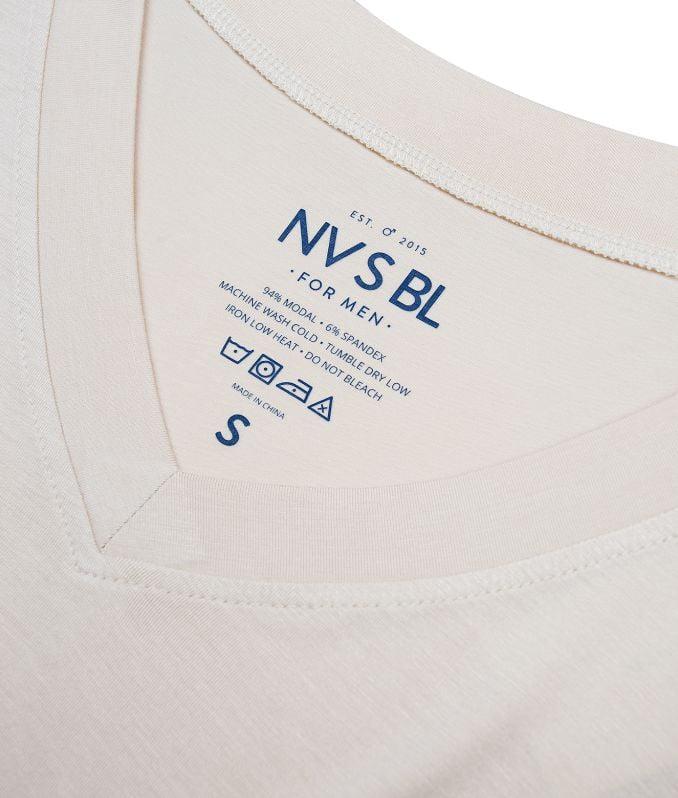 NVSBL body-tone colored v-neck undershirts
