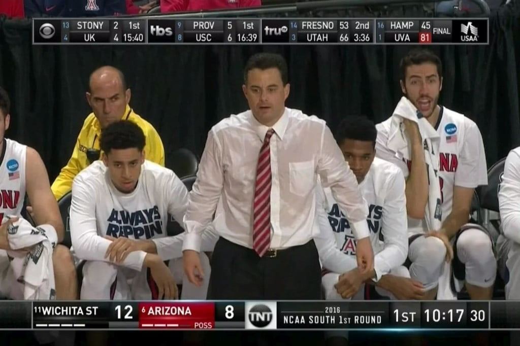 sean-miller-arizona-coach-sweaty