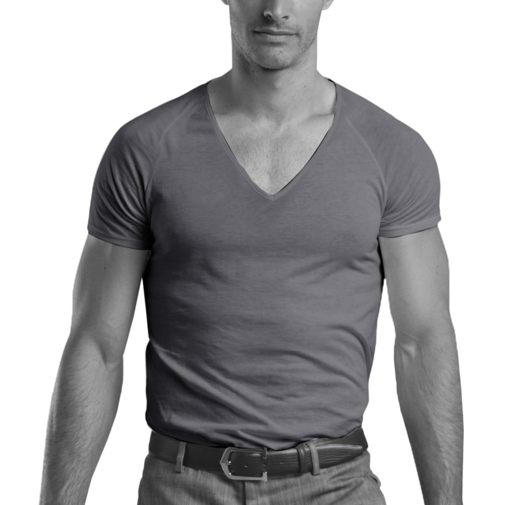 shirtless-grey-v-neck-undershirt-fit-full