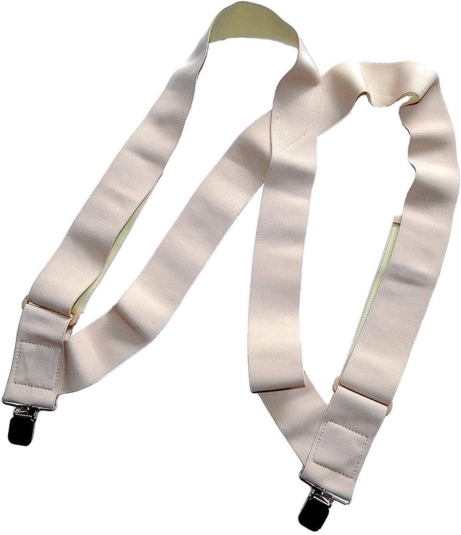 Under-Ups Hidden Suspenders. Keep pants from falling down