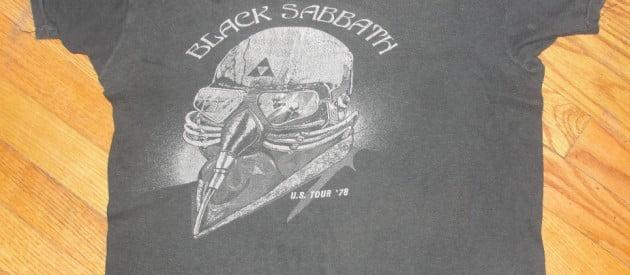 Vintage Black Sabbath T-Shirt Question