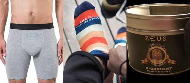 Boxer Briefs, Inspirational Socks, Talc-Free Powder For Your Balls