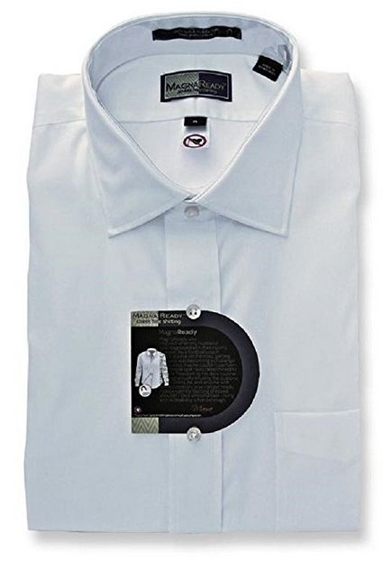 Adaptive button-ups: magnaready dress shirt