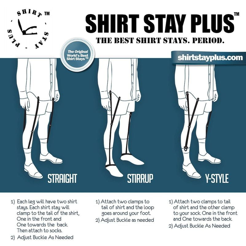 5 Best Types Of Shirt Stays