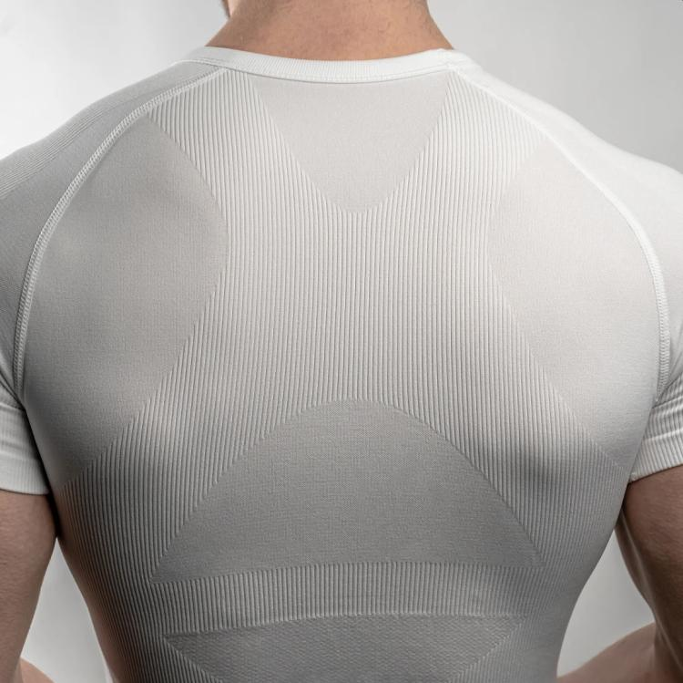 corewear mens shapewear undershirt with posture support
