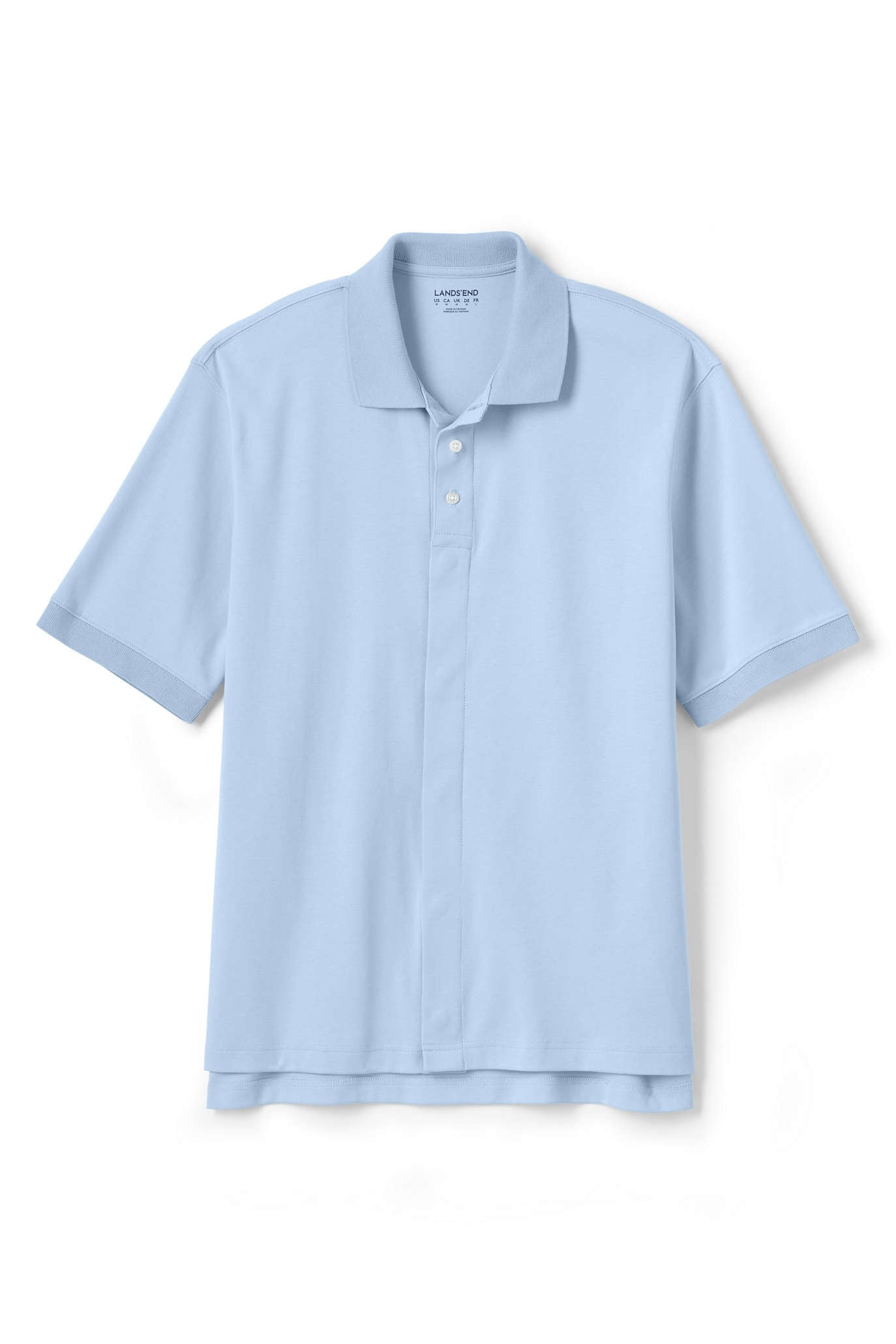 adaptive polo shirt from Lands End