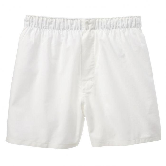 made in usa oxford cloth white underwear boxer shorts