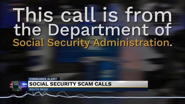 Social Security Administration Scam Call