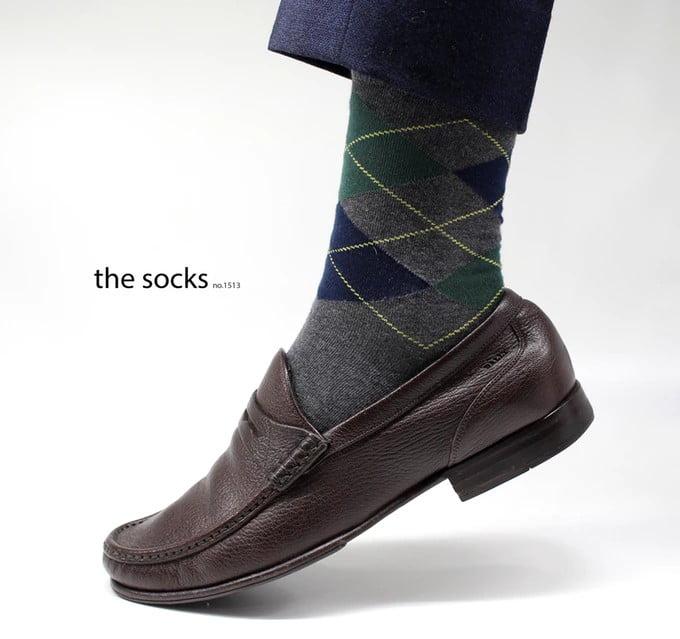 Copper Socks from The Socks 1513