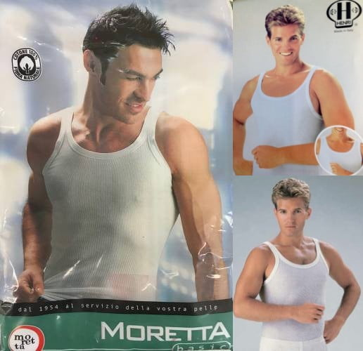 Italian Ribbed Tank Top Undershirts
