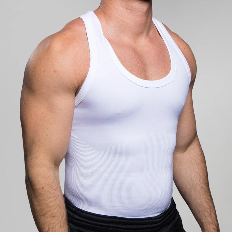 corewear men's compression shapewear compression tank top