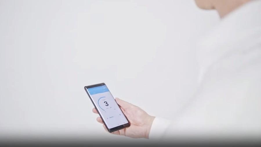 Control via mobile app