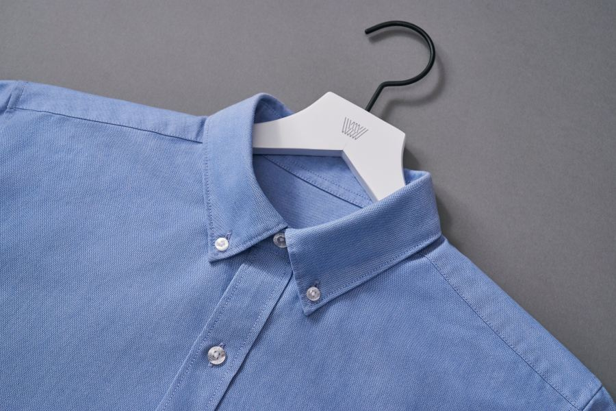 Blue Button-up Oxford. Powered by 37.5 Technology