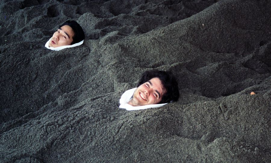 37.5 technology. Dr. Gregory Haggquist in Volcanic Sand
