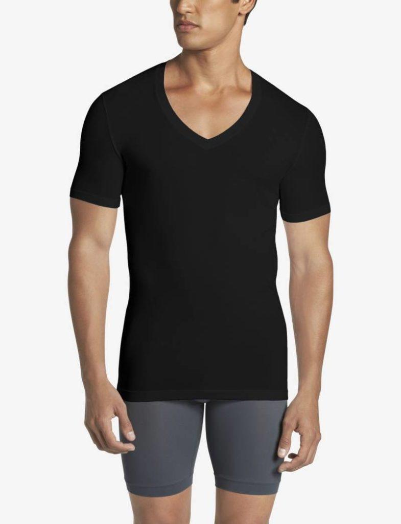 Tommy John black deep v-neck undershirt