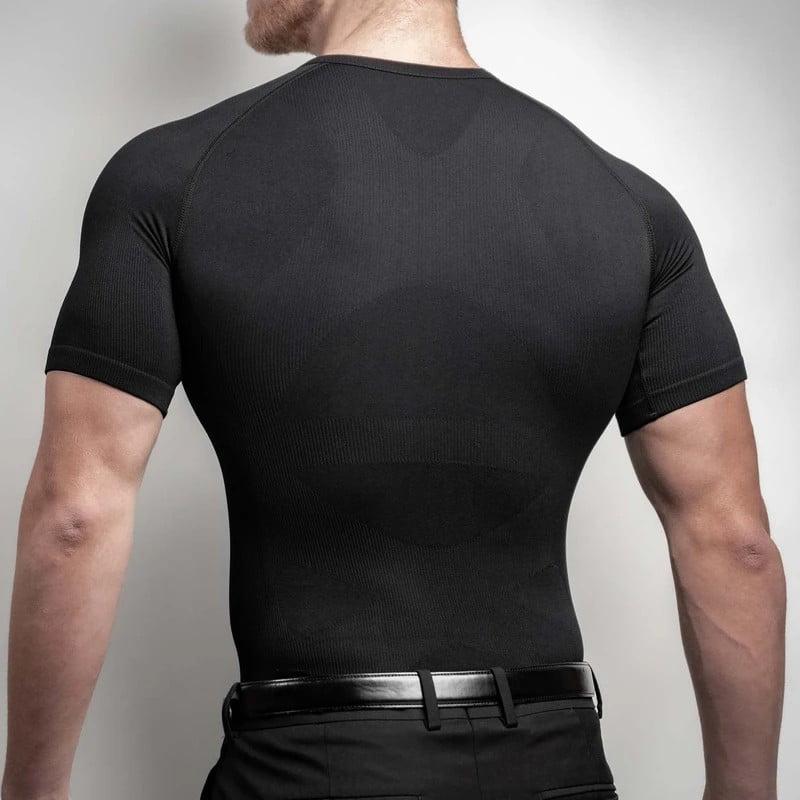 CoreWear slimming undershirt. Black.