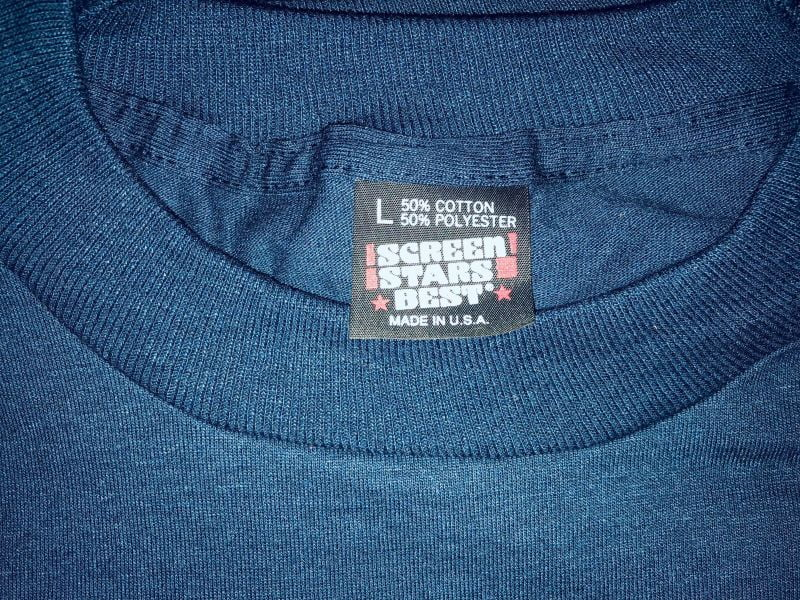 Navy Blue black label t-shirts for sale