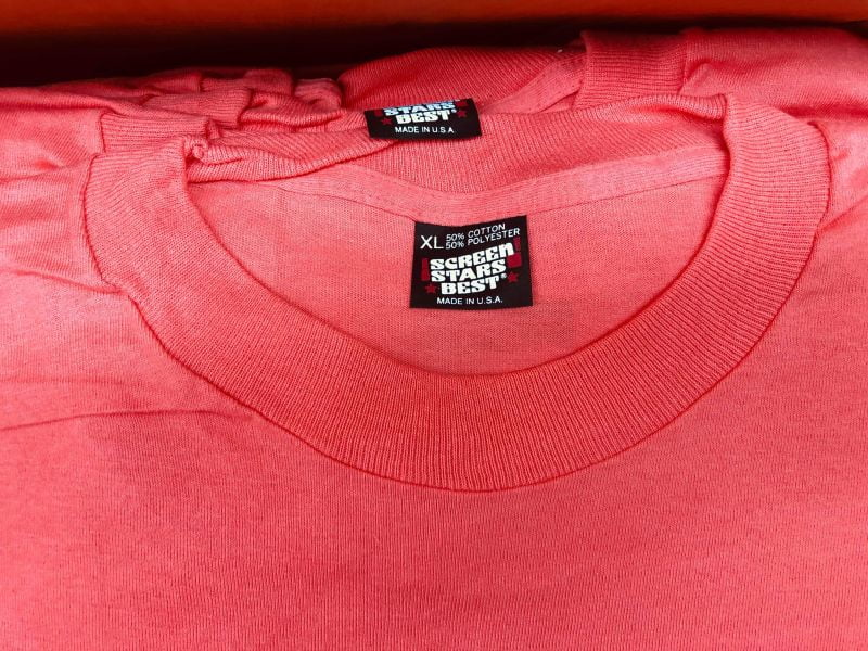 Screen Stars t-shirts for sale | Black Label | Red