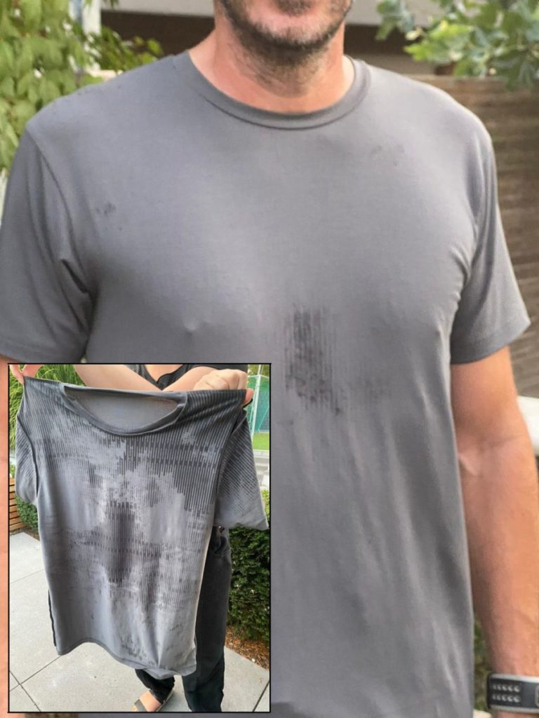 Neat Apparel sweat-proof shirt