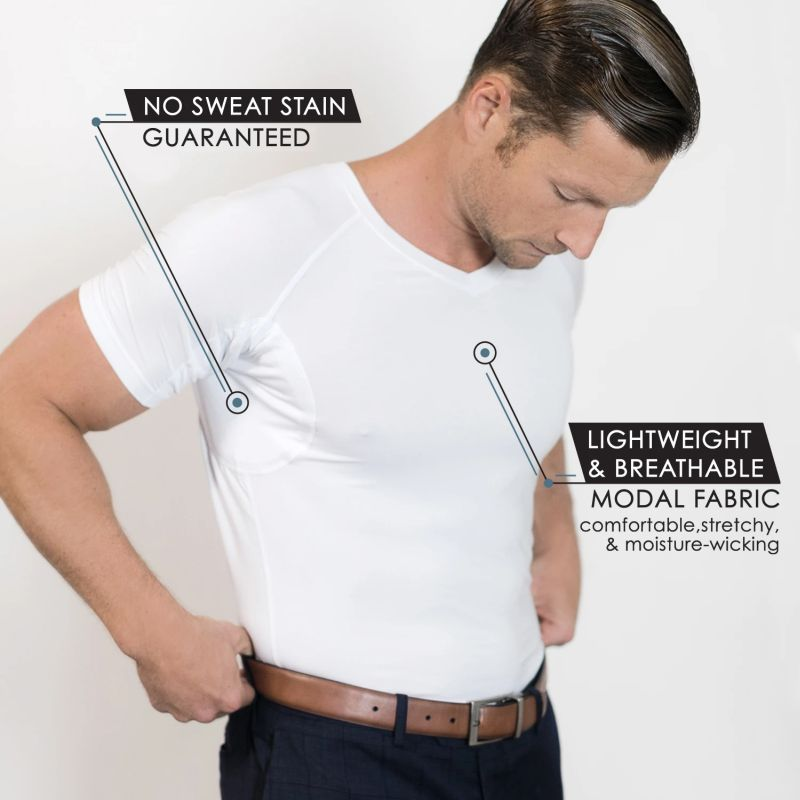 TR+O Undershirts: no sweat marks