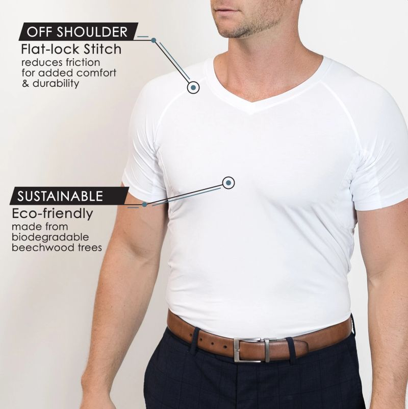 TR+O Sweat Proof Undershirts