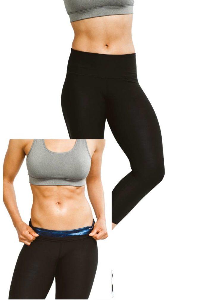 womens sweat shaper leggings