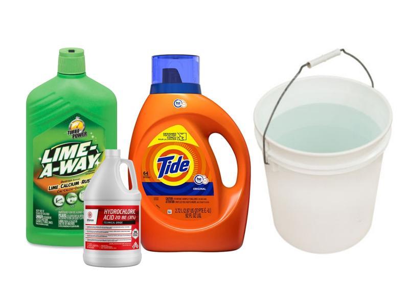 Best deodorant stain remover mixture