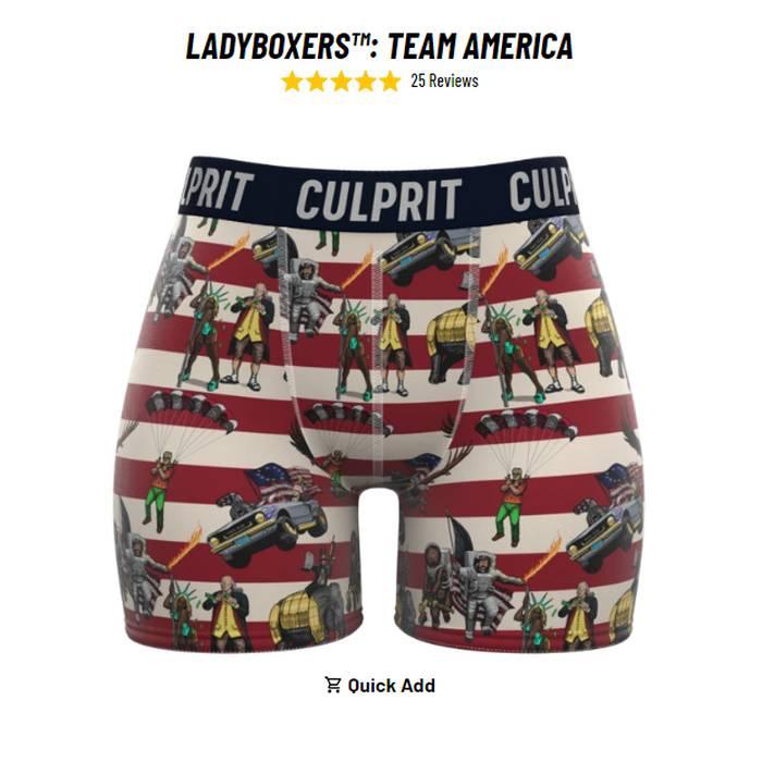 Culprit Underwear - Women's Boxer Briefs