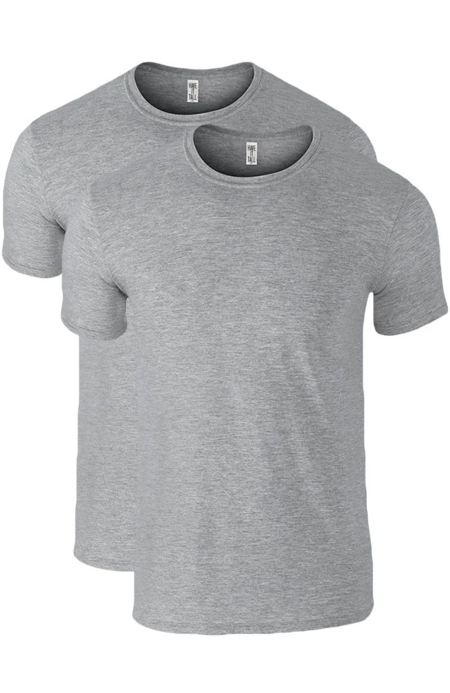Have it Tall heather grey tall undershirts