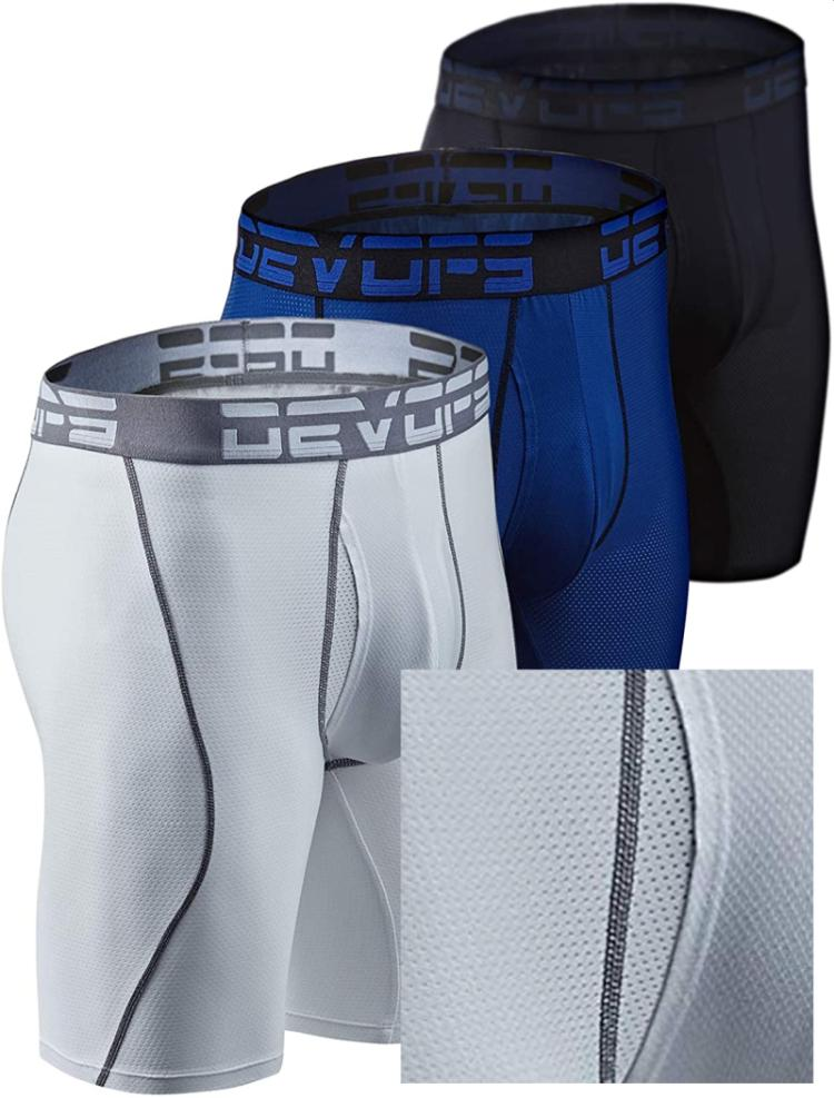 devops polyester mesh anti chafing underwear: for outdoor workers