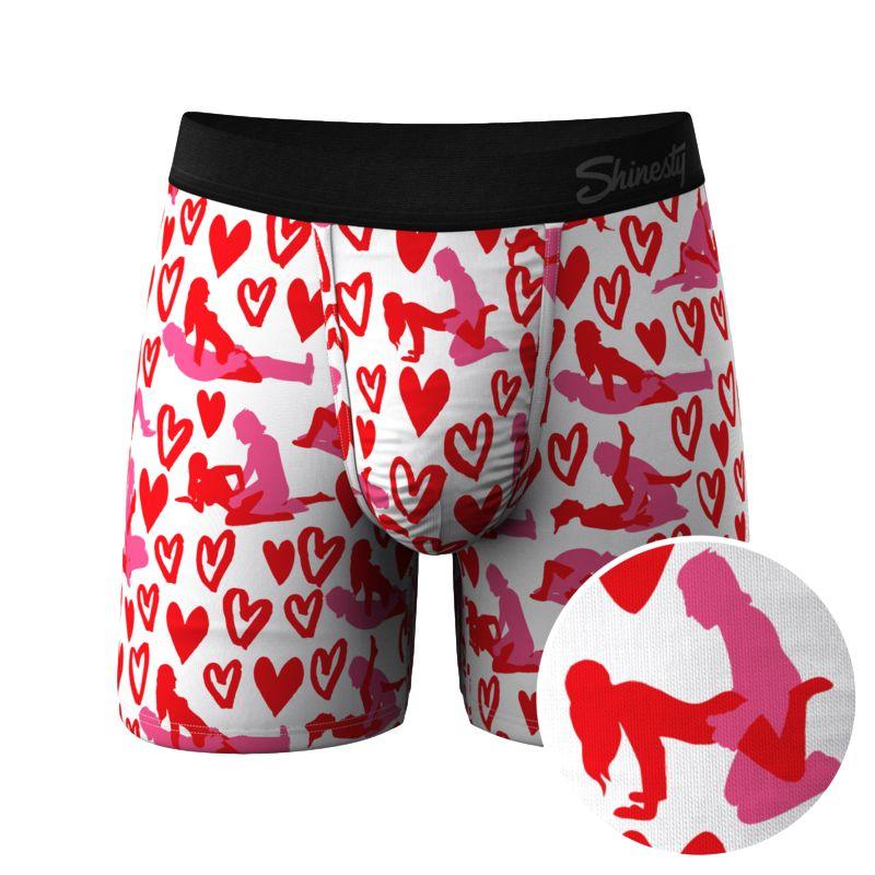 shinesty pouch underwear boxer briefs lovely nuts
