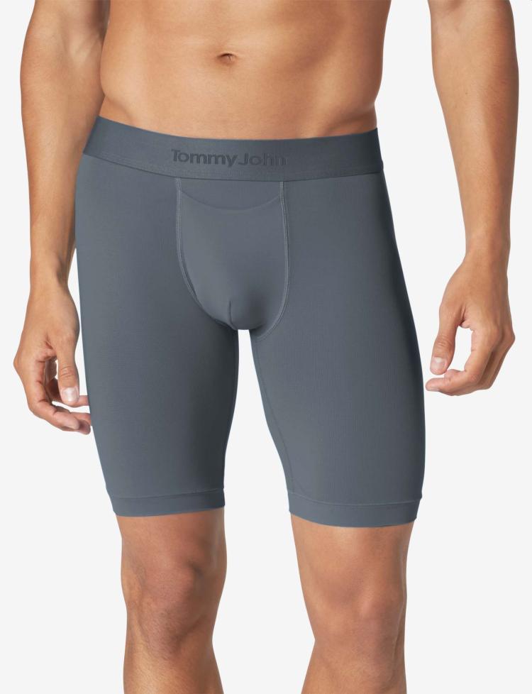 tommy john air nylon anti chafing underwear boxer briefs