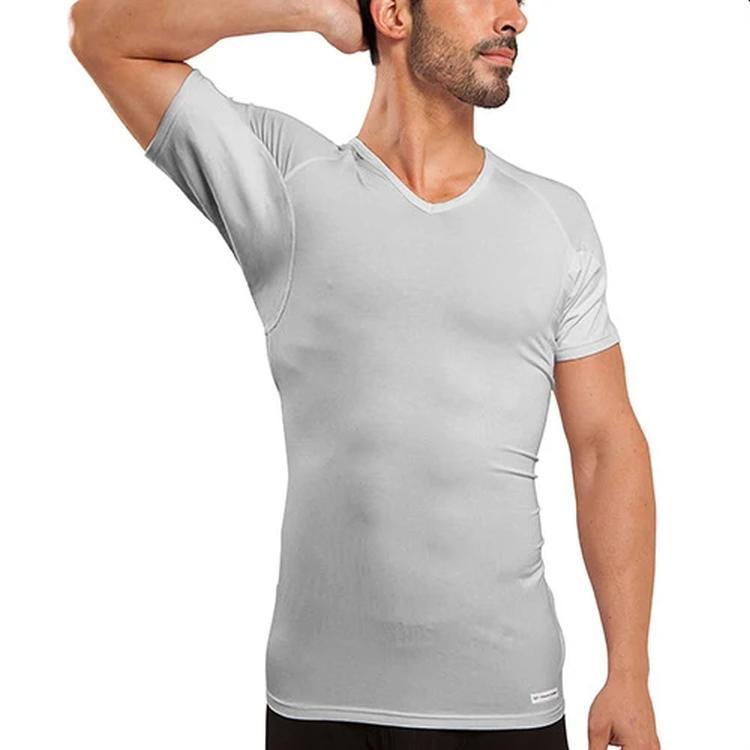 ejis light grey v-neck undershirt
