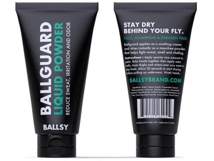 ballsy anti-chafing liquid powder