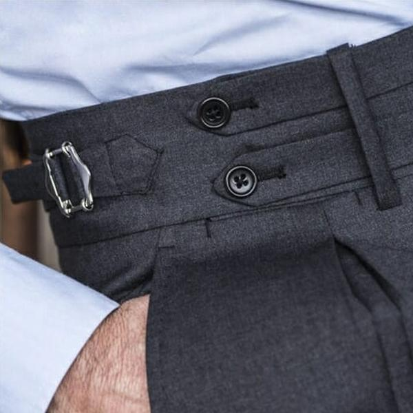 pants with side adjusters